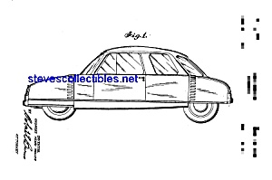 Patent Art: 1950s Muller Automobile