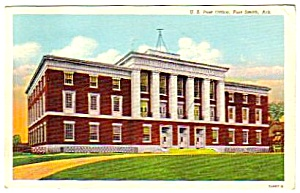 1944 FORT SMITH, Arkansas Post Office Postcard (Image1)