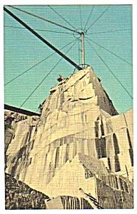 1952 ROCK OF AGES QUARRY, Barre, Vermont Postcard (Image1)