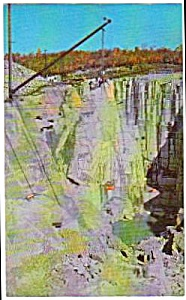 1953 Rock Of Ages Quarry, Barre, Vermont Postcard