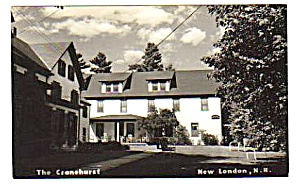 1949 CRANEHURST,New London, New Hampshire RPPC Postcard (Image1)