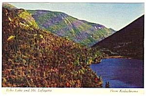 1950s Franconia Notch New Hampshire Postcard