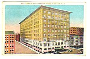 1931 KRESGE DEPARTMENT STORE, NEWARK, NJ Postcard (Image1)