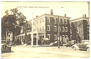 1948 WOLFES TAVERN, Newburyport, Massachusetts Postcard (Image1)