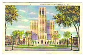 1935 State Office Building, Albany, New York Postcard