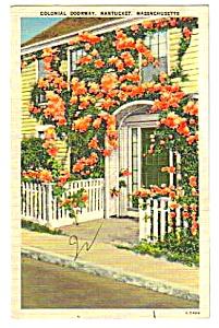 1943 NANTUCKET, MASSACHUSETTS Postcard (Image1)