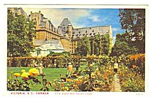 1953 C.P.R.  EMPRESS HOTEL, Victoria, B.C. Canada Pstcd (Image1)