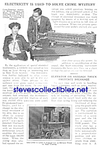 1927 POLICE - LIE DETECTOR Mag. Article (Image1)