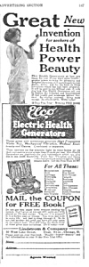 1927 Lindstrom ELCO Electric Vibrator QUACK Ad (Image1)