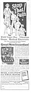 1927 LINDSTROM Electric Vibrator QUACK Ad (Image1)