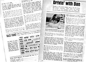 1967 DRIVING WITH DAN GURNEY AUTO RACING Mag. Article (Image1)