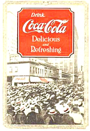1920 Coca Cola Color Ad