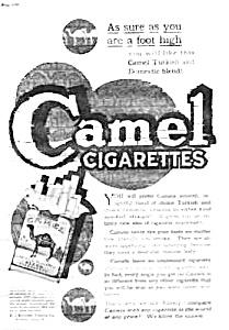 1920 CAMEL CIGARETTES Magazine Ad (Image1)