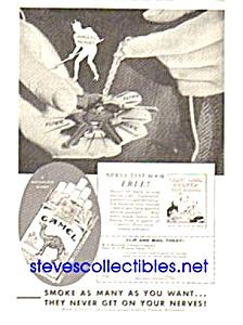 1934 CAMEL CIGARETTES Magazine Ad (Image1)