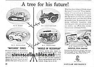 1959 MATCHBOX DIECAST TOYS Magazine Ad (Image1)