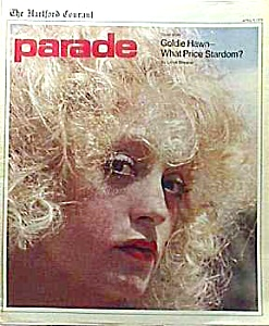 1976 GOLDIE HAWN Cover Parade Magazine (Image1)