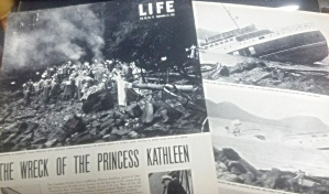 1952 Wreck Of Princess Kathleen - Alaska