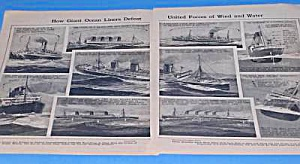 1926 OCEAN LINERS DEFEAT WIND - WATER Article (Image1)