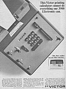 1966 VICTOR PRINTING CALCULATOR Ad (Image1)