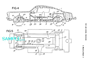 Patent Art: 1960s Lesney Matchbox Toy Mustang
