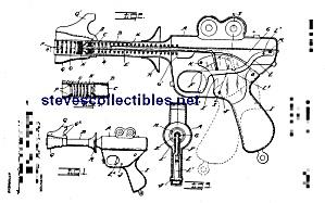 Patent Art: 1930s Daisy BUCK ROGERS XZ-31 RAY GUN (Image1)