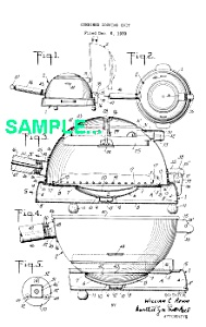 Patent: 1940s MANNING BOWMAN Art Deco Cooker (Image1)
