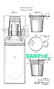 Patent: 1920s Manning Bowman Nested Cups