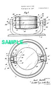 Patent: 1930s MANNING BOWMAN Waffle Iron (Image1)