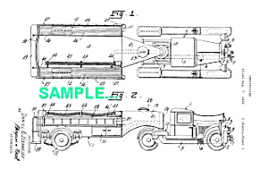 Patent Art: 1930s Curtiss Aerocar Firetruck