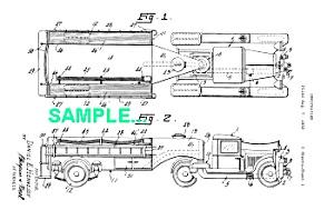 Patent Art: 1930s CURTISS AEROCAR Firetruck (Image1)
