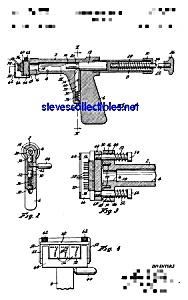 Patent Art: 1960s TATTOO GUN - matted for framing (Image1)