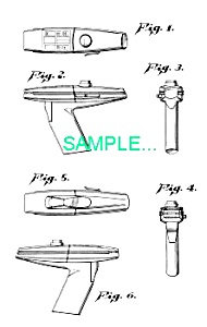 US Patent: STAR TREK Hand Phaser (Image1)