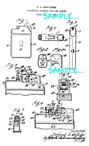 Patent Art: 1930s Combination CIG. LIGHTER  AND CASE (Image1)