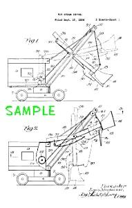 Patent Art: 1920s STRUCTO Toy STEAM SHOVEL (Image1)