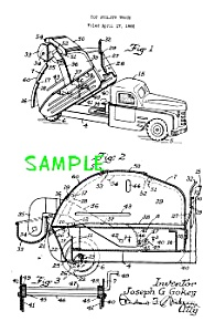 Patent Art: 1950s STRUCTO Toy UTILITY DUMP TRUCK (Image1)