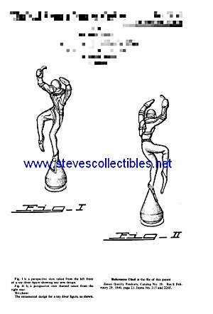 Patent Art: 1950s Toy Diving Frogman Cereal Premium