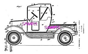 Patent Art: 1930s Lundahl - BUDDY L TOY PICKUP TRUCK (Image1)