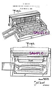 Patent Art: 1951 Lionel TOY TRAIN CATTLE PLATFORM (Image1)