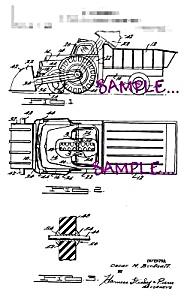 Patent Art: 1960s WYANDOTTE TOY LOADING DUMP TRUCK (Image1)