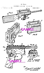 Patent Art: 1960s  AGENT ZERO M Toy Camera - Radio Guns (Image1)