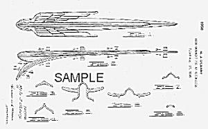 Patent Art: 1949 CHRYSLER Hood Ornament - matted (Image1)