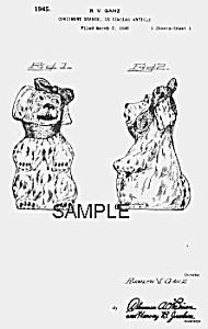 Patent Art: 1940s SHAWNEE MUGGSY Range Shaker (Image1)