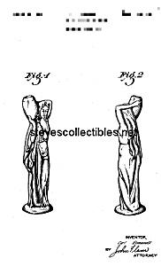 Patent Art: 1941 Metlox ROMANELLI Waterbearer - matted (Image1)
