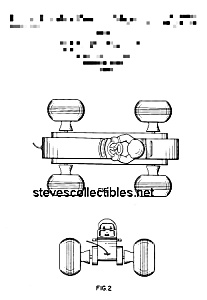 Patent Art: Bouncy Racer #8 Fisher Price Toy-matted