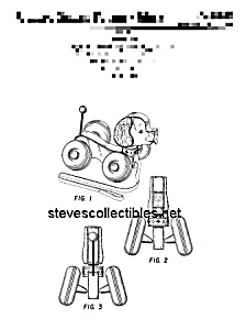 Patent Art: 1960s LITTLE SNOOPY #693 FISHER PRICE Toy (Image1)