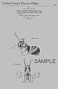 Patent Art: Queen Buzzy Bee #314 Fisher Price Toy