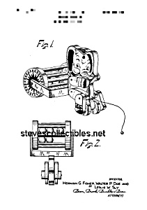 Patent Art: 1950s JUMBO ROLLO #755 FISHER PRICE Toy (Image1)