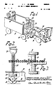 Patent Art: TOY WAGON #131 FISHER PRICE Toy-matted (Image1)