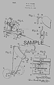 Patent Art: BLACKIE DRUMMER Fisher Price Toy-matted (Image1)