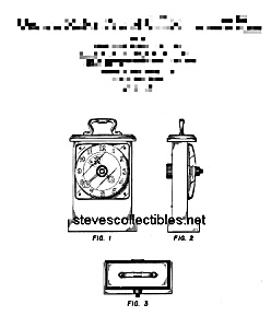 Patent Art: TICK-TOCK CLOCK FISHER PRICE Toy-matted (Image1)